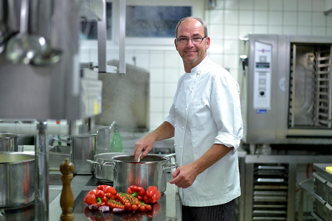 Hotel Sommerau Chur Schweiz Küchenchef Klaus Ziegler 1
