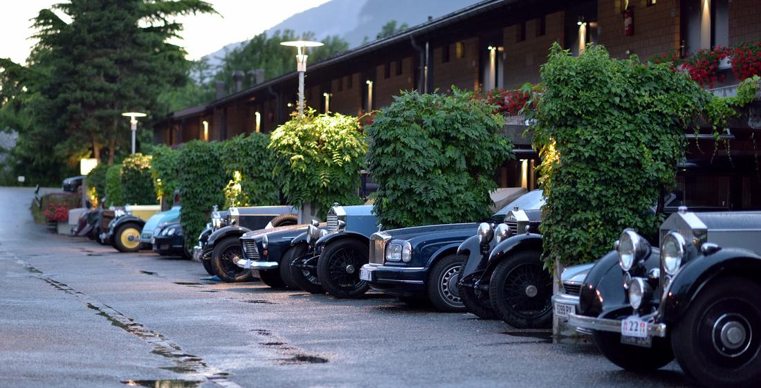 Hotel Sommerau Chur Schweiz Rolls Royce 1
